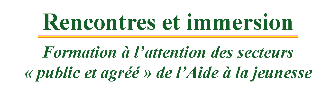 Titre RTA Formation Immersion2018